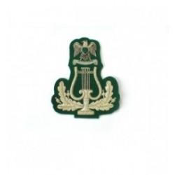 Band Lyre Arm Badge