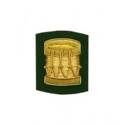 Pipe Band Drum Badge