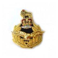 RAF Air Rank Embroidery Cap Badge