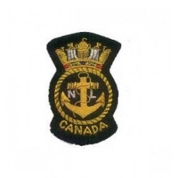 Canadian Air Force Embroidery Cap Badge