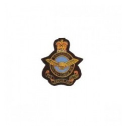Canadian Air Force Royal Embroidery Cap Badge