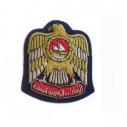 United Arab Emirate Embroidery Cap Badge