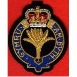 Welsh Guard Blazer Embroidery Badge