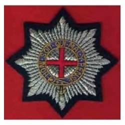 Cold Stream Guards Blazer Embroidery Badge
