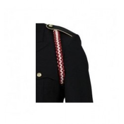 Army Engineer Red And White Shoulder Cord