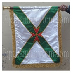 Custom Made Hand Embroidered Banner