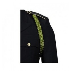 Army Military Police Green And Yellow Shoulder Cord