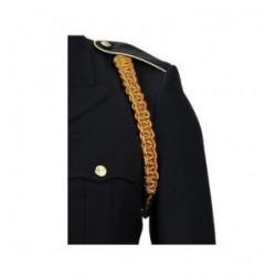 Army Ordinance Crimson Yellow Shoulder Cord