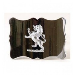 Lion Rampant Waist-Belt Buckle