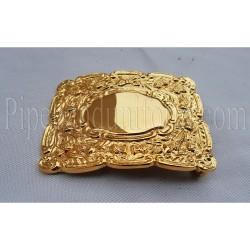 Scottish Thistle Waist Belt Buckle