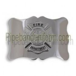 Fireman's Maltese Cross Waist Belt Buckle