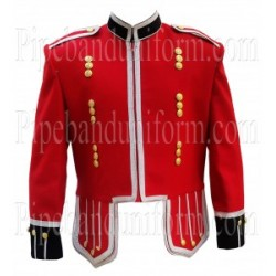 Red Pipe Band Doublet Drummer Jacket