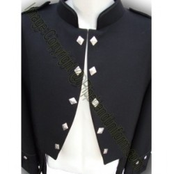 Pipers Drummers Sheriffmuir Doublet Kilt Jacket