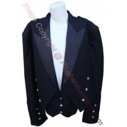 Black Prince Charlie Kilt Jackets