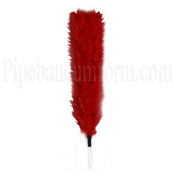 British Army - Coldstream Guards, Officers - Red Feather Plume / Hackle