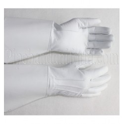 White Leather, Standard Bearers Gauntlet Gloves