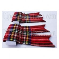 Royal Stewart Tartan Kilt Flashers/Flashes - Garters