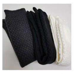 Charcoal Black Full Socks