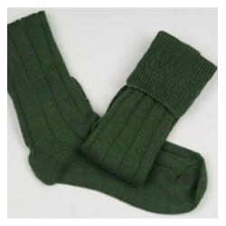 Military Green Pipe Band Full Socks