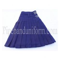Cotton Royal Blue Kilt