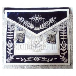 Embroidered Grand LPM Blue Masonic Apron