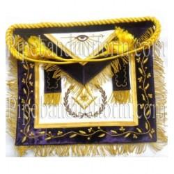 Embroidered Grand Senior Deacon Blue Masonic Apron