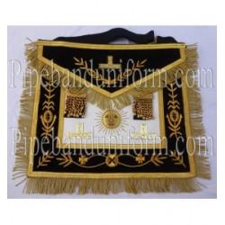 Embroidered Grand Master Blue Masonic Apron