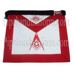 Embroidered Master Mason Masonic Apron - Blue Lodge