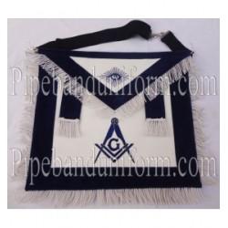 Embroidered Master Mason Blue Masonic Apron