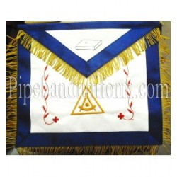 Embroidered PTP Grand Master, PTPGM Blue Masonic Apron