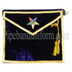 Embroidered OES Worthy Patron Matron Blue Masonic Apron