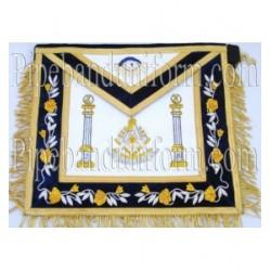 Embroidered Past Master Blue Masonic Apron