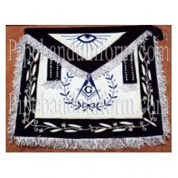 Embroidered Master Mason Grand Lodge Blue Masonic Apron