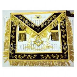 Embroidered Lodge Master Mason Blue Masonic Apron