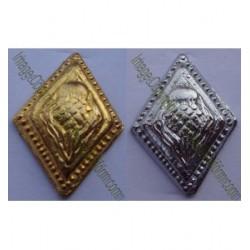 Sharp Diamond Thistle Buttons