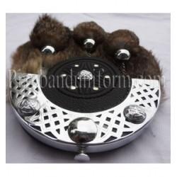 Pipe Band Dress Rabbit Hair Sporran
