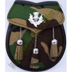 Pipe Band Military Sporran