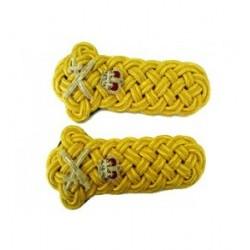 General's Gold Twist Shoulder Cords