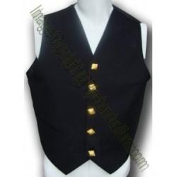 Gold buttons Waistcoat