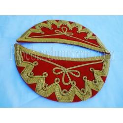 Red Doublet Shoulder Shells - Wings - Epaulettes
